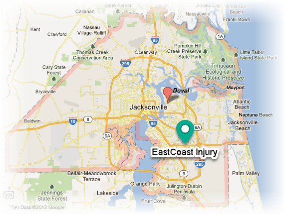 map of southside jacksonville